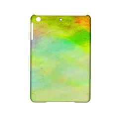 Abstract Yellow Green Oil Ipad Mini 2 Hardshell Cases by BangZart