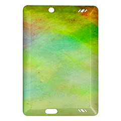 Abstract Yellow Green Oil Amazon Kindle Fire Hd (2013) Hardshell Case by BangZart