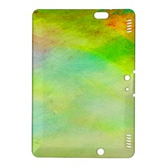 Abstract Yellow Green Oil Kindle Fire Hdx 8 9  Hardshell Case by BangZart