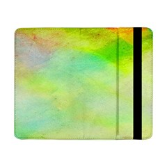 Abstract Yellow Green Oil Samsung Galaxy Tab Pro 8 4  Flip Case by BangZart
