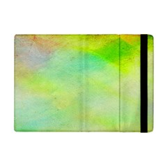 Abstract Yellow Green Oil Ipad Mini 2 Flip Cases by BangZart