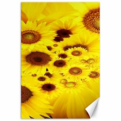 Beautiful Sunflowers Canvas 20  X 30   by BangZart