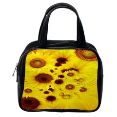 Beautiful Sunflowers Classic Handbags (one Side)