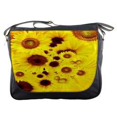 Beautiful Sunflowers Messenger Bags