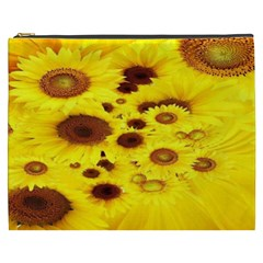Beautiful Sunflowers Cosmetic Bag (xxxl)