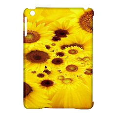 Beautiful Sunflowers Apple Ipad Mini Hardshell Case (compatible With Smart Cover) by BangZart