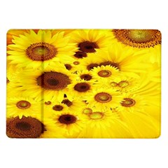 Beautiful Sunflowers Samsung Galaxy Tab 10 1  P7500 Flip Case