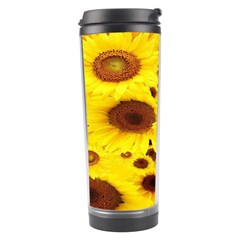 Beautiful Sunflowers Travel Tumbler by BangZart