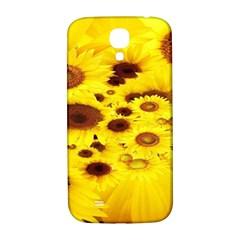 Beautiful Sunflowers Samsung Galaxy S4 I9500/i9505  Hardshell Back Case