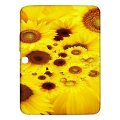 Beautiful Sunflowers Samsung Galaxy Tab 3 (10 1 ) P5200 Hardshell Case  by BangZart