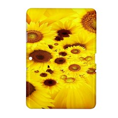 Beautiful Sunflowers Samsung Galaxy Tab 2 (10 1 ) P5100 Hardshell Case  by BangZart