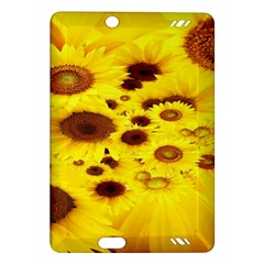 Beautiful Sunflowers Amazon Kindle Fire Hd (2013) Hardshell Case by BangZart