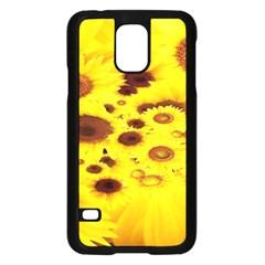 Beautiful Sunflowers Samsung Galaxy S5 Case (black)