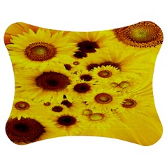 Beautiful Sunflowers Jigsaw Puzzle Photo Stand (bow)