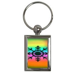 Vector Snowflake Key Chains (rectangle)  by BangZart