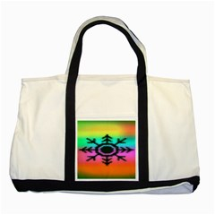 Vector Snowflake Two Tone Tote Bag by BangZart