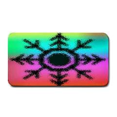 Vector Snowflake Medium Bar Mats by BangZart