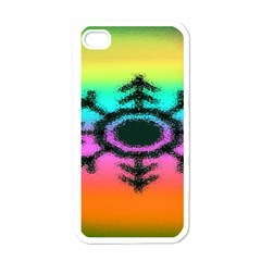 Vector Snowflake Apple Iphone 4 Case (white) by BangZart