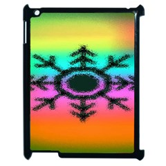 Vector Snowflake Apple Ipad 2 Case (black) by BangZart