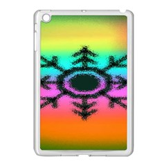 Vector Snowflake Apple Ipad Mini Case (white) by BangZart