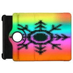 Vector Snowflake Kindle Fire Hd 7  by BangZart