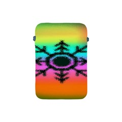 Vector Snowflake Apple Ipad Mini Protective Soft Cases by BangZart