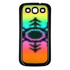 Vector Snowflake Samsung Galaxy S3 Back Case (black) by BangZart