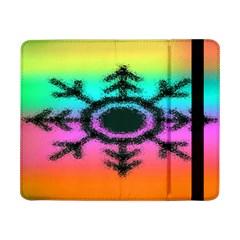 Vector Snowflake Samsung Galaxy Tab Pro 8 4  Flip Case