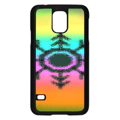 Vector Snowflake Samsung Galaxy S5 Case (black)