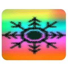 Vector Snowflake Double Sided Flano Blanket (medium)  by BangZart