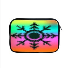 Vector Snowflake Apple Macbook Pro 15  Zipper Case by BangZart
