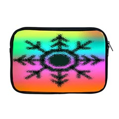 Vector Snowflake Apple Macbook Pro 17  Zipper Case