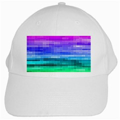 Pretty Color White Cap by BangZart