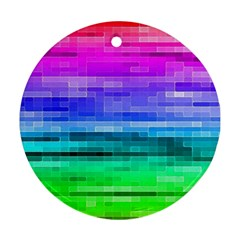 Pretty Color Ornament (round)