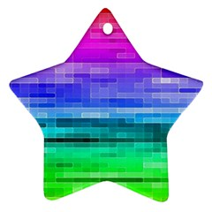 Pretty Color Ornament (star)