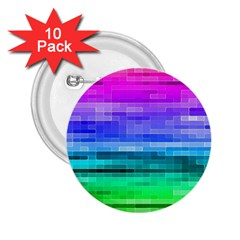 Pretty Color 2 25  Buttons (10 Pack)  by BangZart