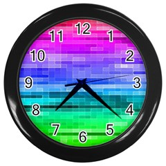 Pretty Color Wall Clocks (black)