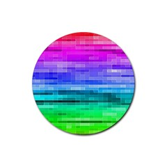 Pretty Color Rubber Coaster (round)