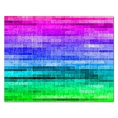 Pretty Color Rectangular Jigsaw Puzzl
