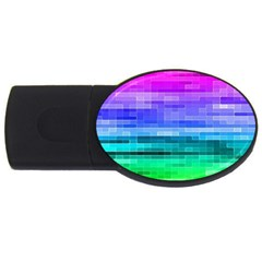 Pretty Color Usb Flash Drive Oval (4 Gb) by BangZart