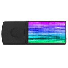 Pretty Color Usb Flash Drive Rectangular (4 Gb)