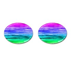 Pretty Color Cufflinks (oval)