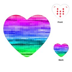 Pretty Color Playing Cards (heart)  by BangZart