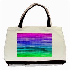 Pretty Color Basic Tote Bag by BangZart