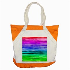 Pretty Color Accent Tote Bag by BangZart