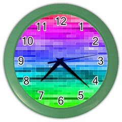 Pretty Color Color Wall Clocks by BangZart