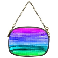 Pretty Color Chain Purses (two Sides)