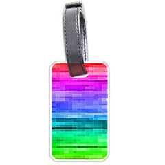 Pretty Color Luggage Tags (one Side)