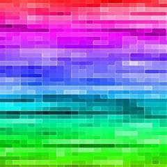 Pretty Color Magic Photo Cubes
