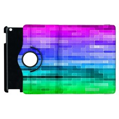 Pretty Color Apple Ipad 2 Flip 360 Case by BangZart